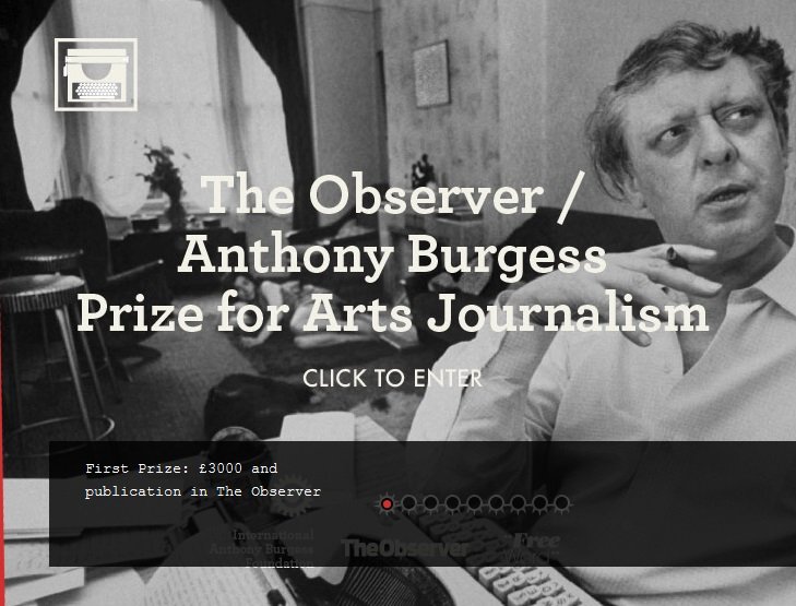 جایزه هنر روزنامه نگاری «Anthony Burgess» با عنوان «مشاهده گر»