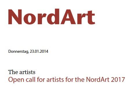 فراخوان سالانه هنرهای تجسمی «NordArt»