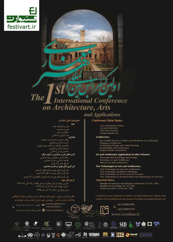 کنفرانس بین المللی هنر، معماری و کاربردها