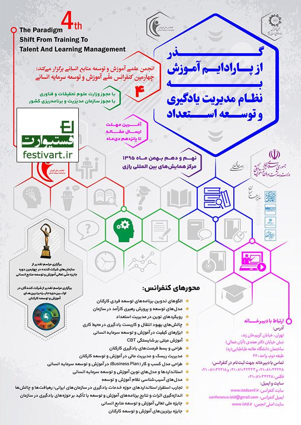 فراخوان مقاله|چهارمین کنفرانس ملی آموزش و توسعه سرمایه انسانی