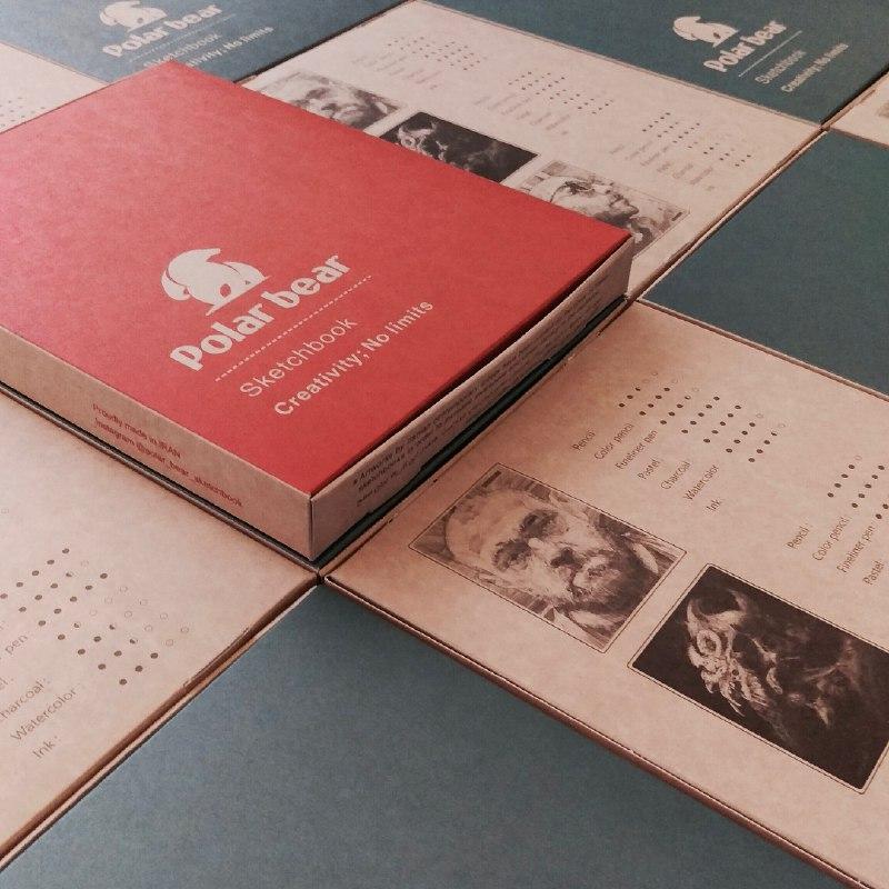 حضور دفترهای طراحی خرس قطبی در دانشگاه تهران