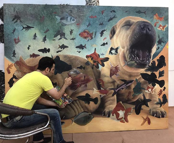 فراخوان شرکت در کلاس طراحی نقاشی هایپررئال در شمالغرب تهران