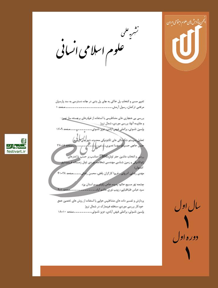 فراخوان مقاله فصلنامه علوم اسلامی انسانی
