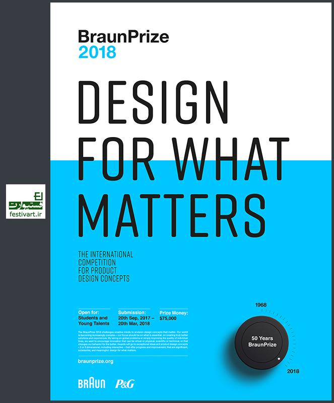 فراخوان بین المللی طراحی محصول جایزه BraunPrize سال ۲۰۱۸
