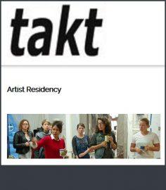 فراخوان بین المللی اقامت هنری مرکز Takt در آلمان