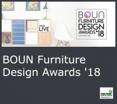 فراخوان بین المللی معماری طراحی مبلمان گروه BOUN سال ۲۰۱۸