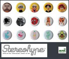 فراخوان چهاردهمین مسابقه بین المللی طراحی دکمه (مدال به شگل سگگ) Stereohype سال ۲۰۱۸