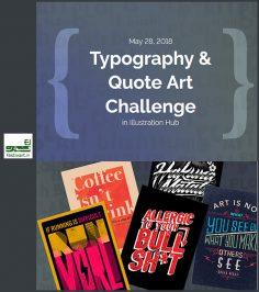 فراخوان رقابت بین المللی Typography سال ۲۰۱۹