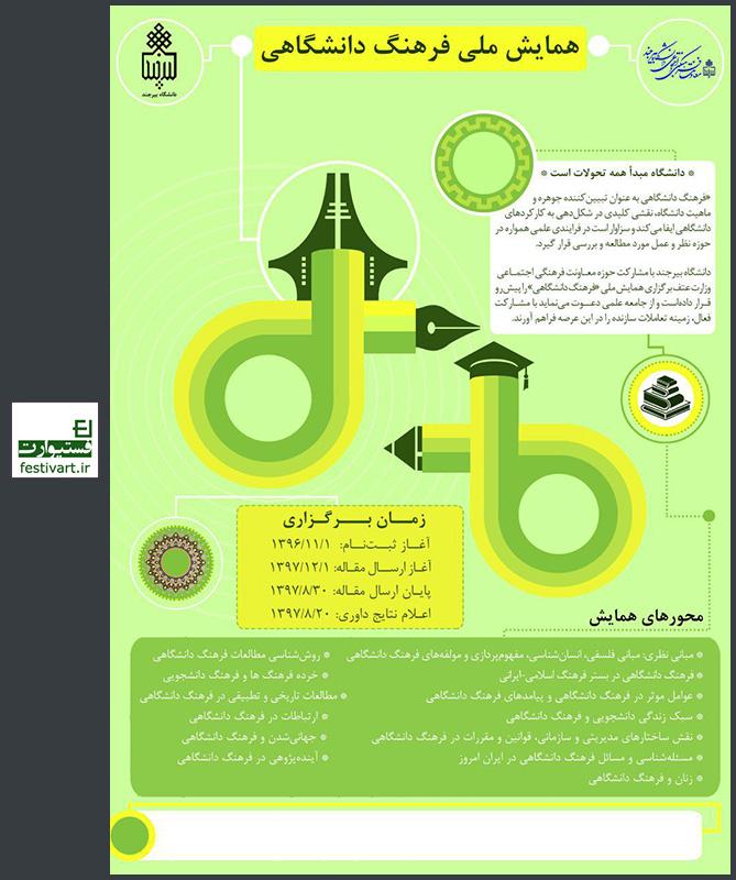 فراخوان مقاله همایش ملی فرهنگ دانشگاهی