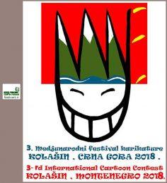 فراخوان سومین مسابقه بین المللی کارتون Kolašin مونته نگرو ۲۰۱۸