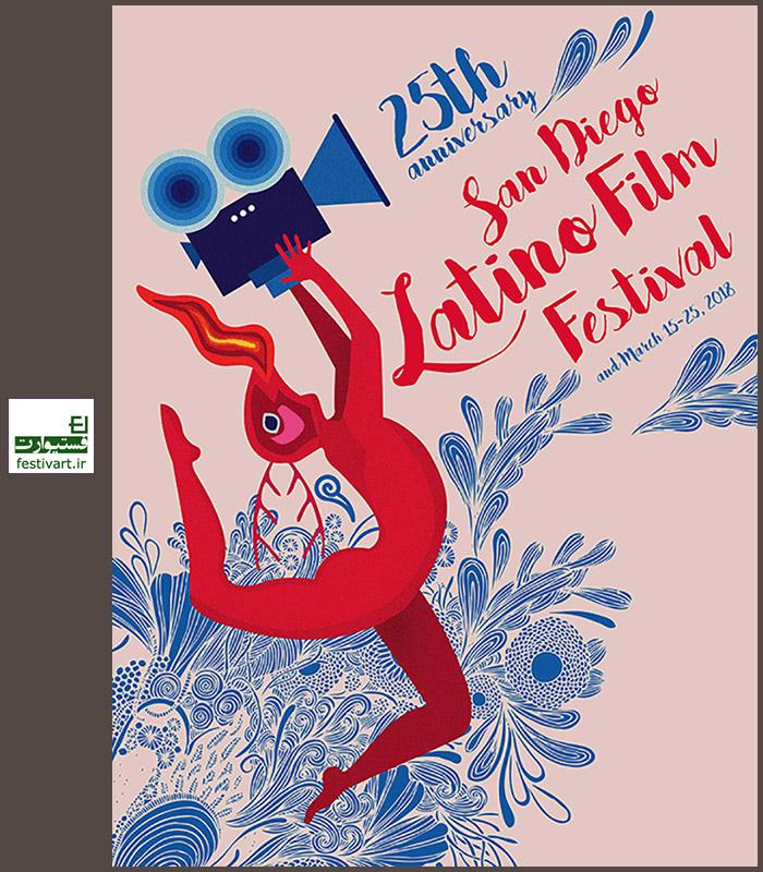 فراخوان بین المللی طراحی پوستر بیست و ششمین جشنواره فیلم لاتین سن دیگو