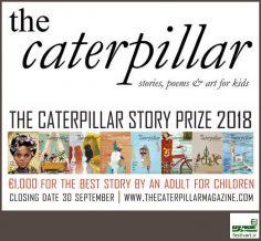 فراخوان جایزه بین المللی ادبی داستان برای کودکان نشریه کاترپیلار سال ۲۰۱۸