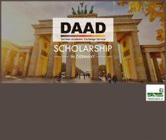 فراخوان بین المللی بورسیه تحصیلی موسسه DAAD آلمان