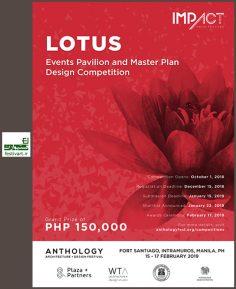 فراخوان بین المللی مسابقه طراحی پاویون و مستر پلن Lotous