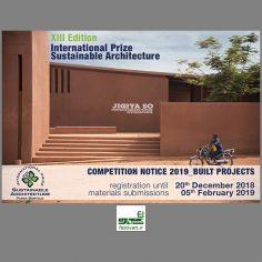 فراخوان بین المللی سیزدهمین جایزه معماری پایدار Fassa Bortolo سال ۲۰۱۹