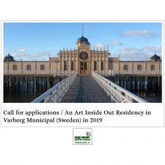 فراخوان بین المللی کمک هزینه برنامه رزیدنسی (اقامت هنرمند) مرکز Art Inside Out سوئد