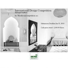 فراخوان رقابت بین المللی طراحی داخلی و معماری MYDESIGN ۲۰۱۹