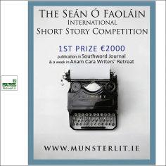 فراخوان جایزه بین المللی داستان کوتاه Seán Ó Faoláin ۲۰۱۹