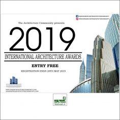فراخوان جایزه بین المللی معماری IAA ۲۰۱۹