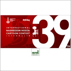 فراخوان سی و نهمین رقابت بین المللی کارتون نصرالدین حجا ترکیه ۲۰۱۹