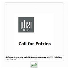 فراخوان بین المللی نمایشگاه انفرادی عکاسی Solo 2019 در گالری PH21