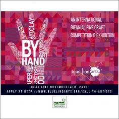 فراخوان رقابت بین المللی دوسالانه هنرهای زیبا By Hand ۲۰۱۹