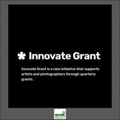 فراخوان بین المللی Innovate Grants برای عکاسان و هنرمندان ۲۰۱۹