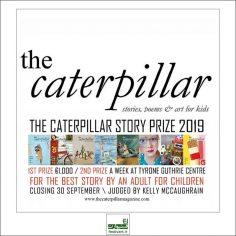 فراخوان رقابت بین المللی داستان کودکان Caterpillar ۲۰۱۹
