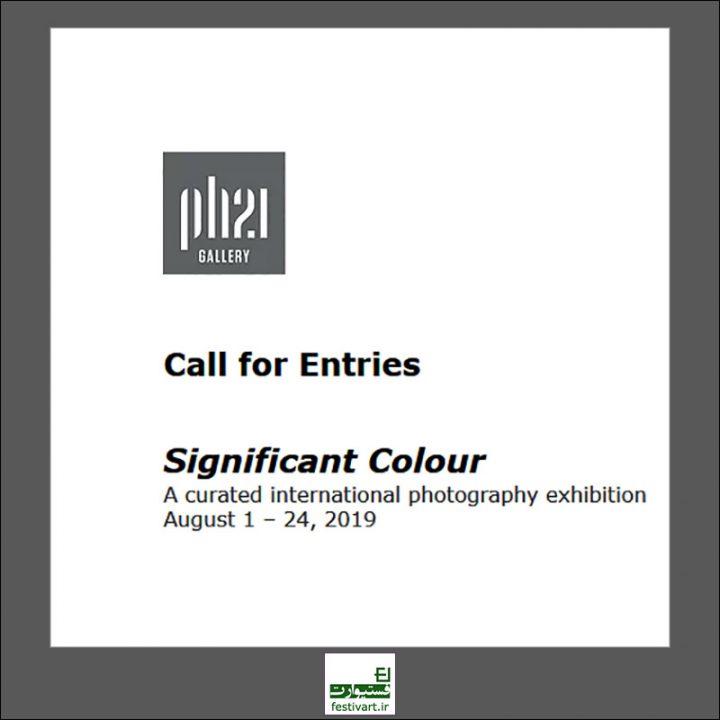 فراخوان رقابت بین المللی عکاسی Significant Colour ۲۰۱۹