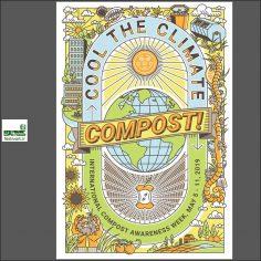 فراخوان رقابت بین المللی طراحی پوستر هفته کمپوست ۲۰۲۰