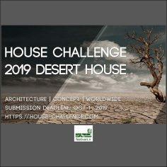 فراخوان رقابت بین المللی معماری چالش خانه کویری ۲۰۱۹