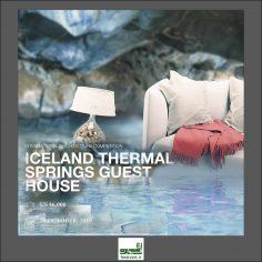 فراخوان رقابت بین المللی معماری Iceland Thermal Springs Guest House ۲۰۱۹