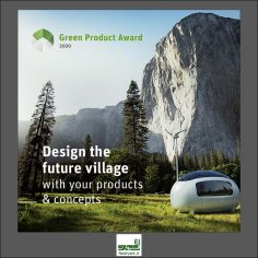 فراخوان بین المللی جایزه طراحی محصول سبز ۲۰۲۰