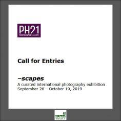 فراخوان نمایشگاه بین المللی عکاسی scapes ۲۰۱۹ در گالری PH21