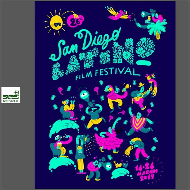 فراخوان رقابت بین المللی طراحی پوستر جشنواره فیلم San Diego ۲۰۱۹