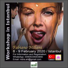 فراخوان ورکشاپ آموزشی هایپررئالیسم فابیانو میلانی در استانبول