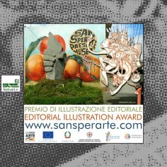 فراخوان رقابت بین المللی تصویرسازی SANSPERARTE PAESE MUSEO ۲۰۱۹