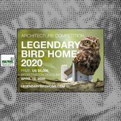 فراخوان رقابت معماری Legendary Bird Home یا خانه پرندگان افسانه ای ۲۰۲۰