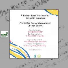 فراخوان هفتمین رقابت بین المللی کارتون Bursa ۲۰۱۹