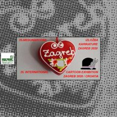 فراخوان بیست و پنجمین رقابت بین المللی کارتون ZAGREB ۲۰۲۰