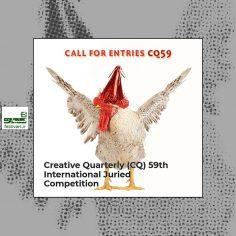 فراخوان پنجاه و نهمین رقابت بین المللی مجله خلاقیت CQ ۲۰۲۰