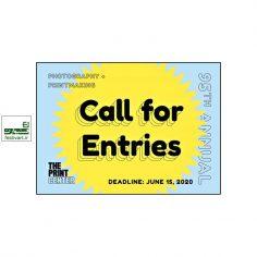 فراخوان نود و پنجمین رقابت بین المللی عکاسی و چاپ دستی Print Center ۲۰۲۰