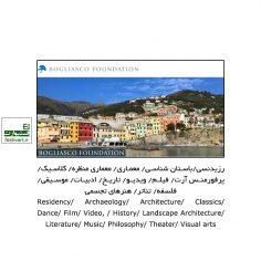 فراخوان بورسیه رزیدنسی Bogliasco ایتالیا ۲۰۲۱