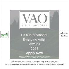 فراخوان رقابت بین المللی The Visual Art Open ۲۰۲۱